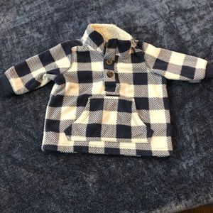 Infant fleece pullover